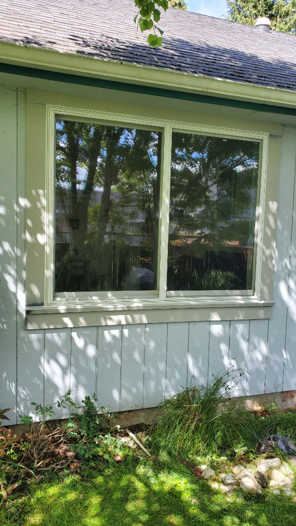 Eugene, OR - Installed window for customer