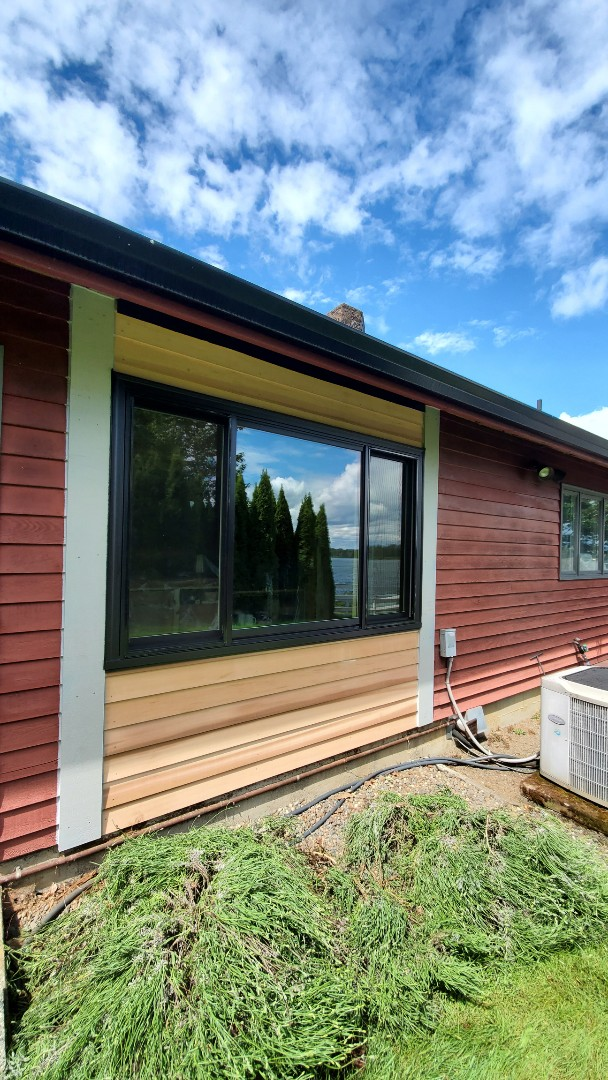 Columbia City, OR - Installed window for customer in Columbia city OR