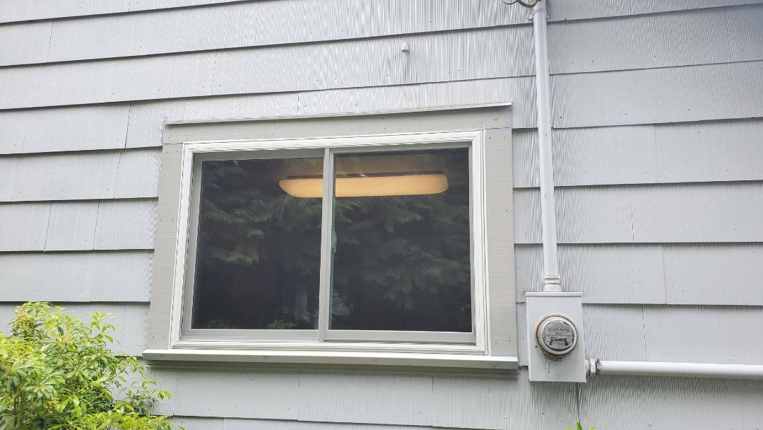 Eugene, OR - Installed windows for customer in Eugene