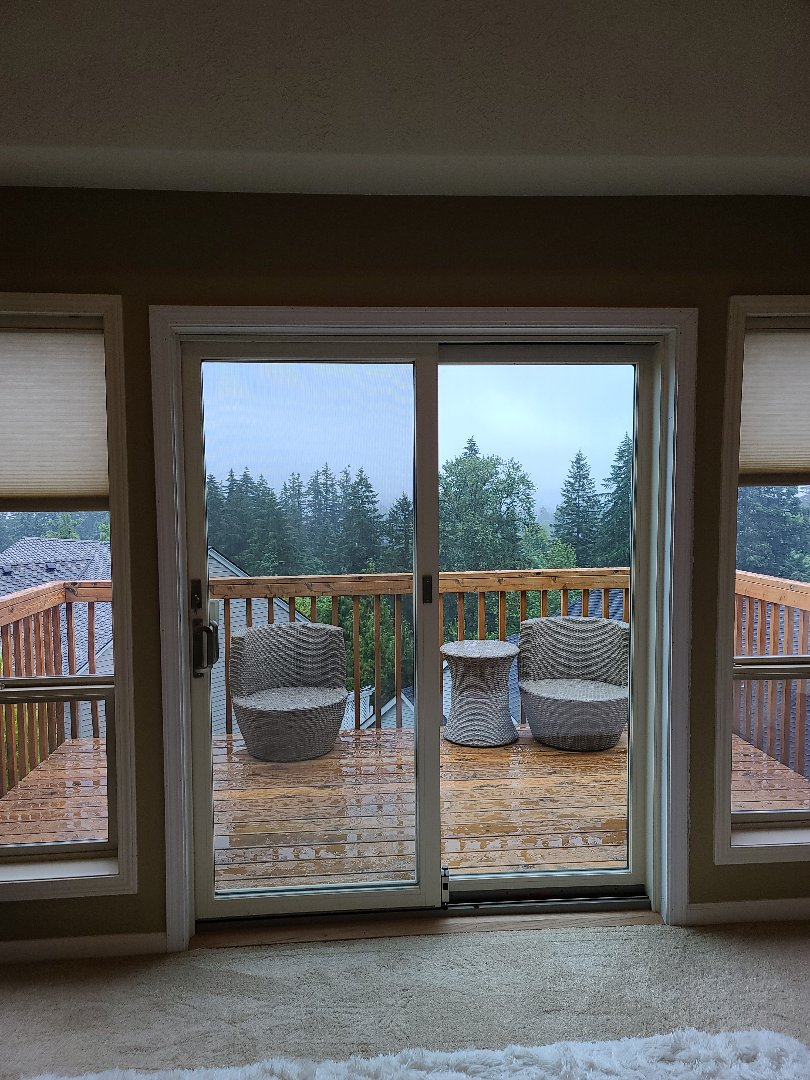 Tigard, OR - We did one door installation in this beautiful home