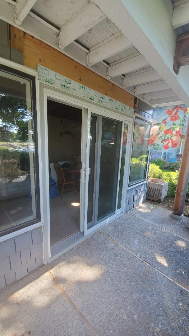 Portland, OR - Installed door for customer in Portland