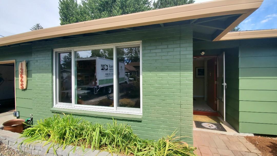 Beaverton, OR - Installed window and door for customer.