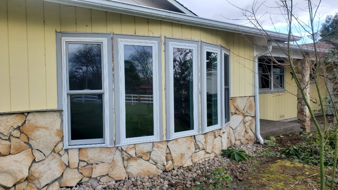 Eugene, OR - Installed windows for customer in Eugene OR
