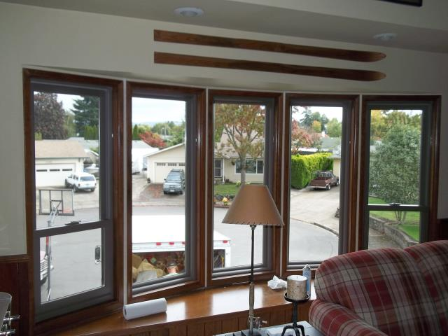 Springfield, OR - Replaced 10 CB standard. Photo is of bow configurations on front of house. Came out great!