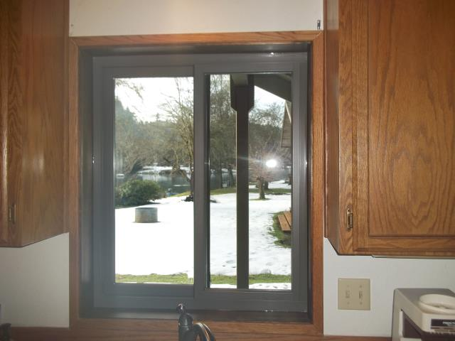 Clatskanie, OR - Replaced 3 windows with terratone interior/exterior.