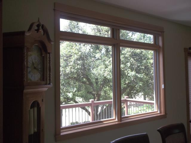 Sherwood, OR - Replaced 4 windows. cutback craftsman, terra tone ext/ pine interior.