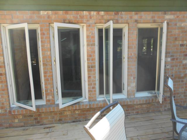 Camas, WA -  9 windows installed. Picture of 4 casements.