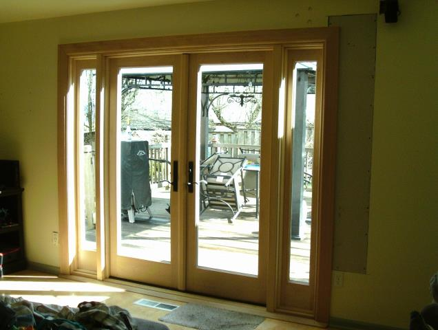 Camas, WA - 3 windows and 3 patio doors installed.