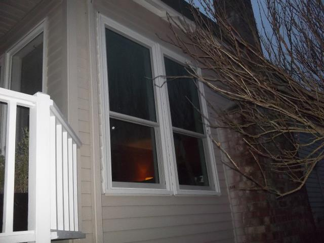 Camas, WA - 8 windows installed. White white. All Windows have new paint grade interior trim.