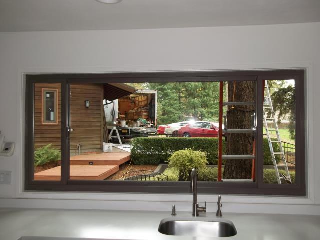 Oregon City, OR - 14 windows installed in Oregon City. Terratone interior
