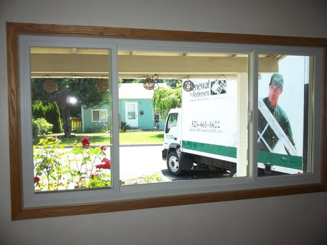 Oregon City, OR - Replace metal Windows with a retro install