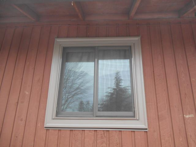 Milwaukie, OR - 10 windows installed Terratone with Stone Hardware and Fiberglass Screens.