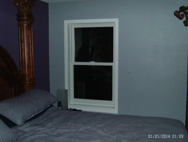 Wilsonville, OR - 2 double hung Windows installed in master bedroom.