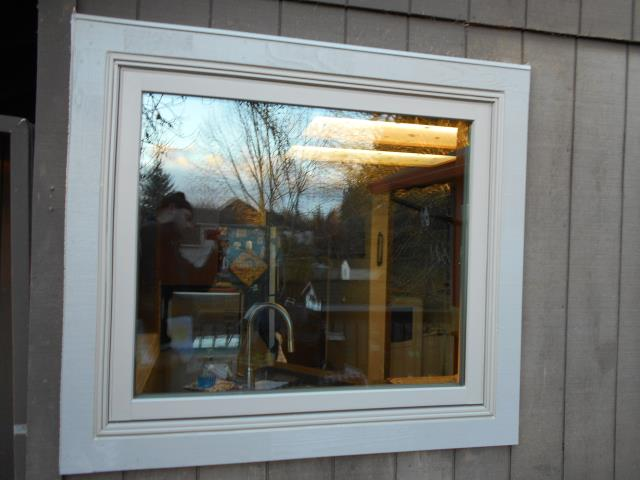 Wilsonville, OR - 14 windows installed. Picture of picture window.