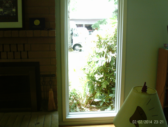 Gresham, OR - Picture windows installed. White interior/exterior.