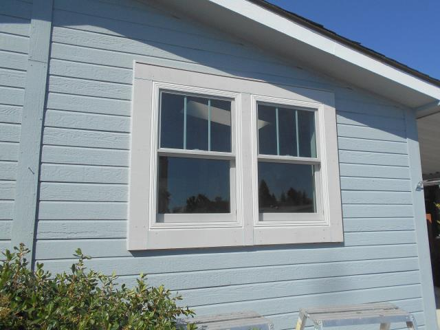 Beaverton, OR - We put in two new gorgeous double hung windows in this house!