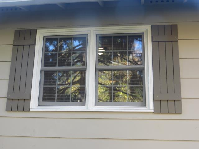 Lake Oswego, OR - Our professional installers worked hard on these Andersen Fibrex Double Hung window replacements for 4 windows in this Portland Home!