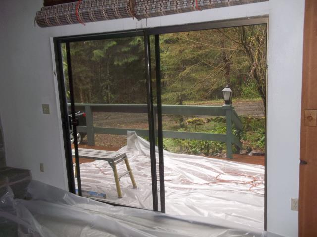 Rhododendron, OR - We replaced 2 patio doors for this grand home!