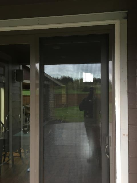 Warren, OR - Our professional installers replaced 1 patio door for this beautiful house in Warren!