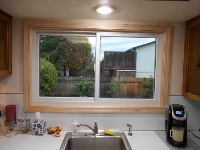 Troutdale, OR - We replaced a gliding glass patio door for this home!