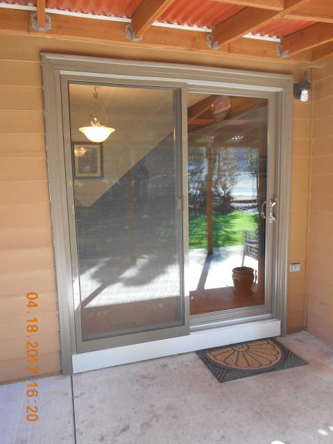 Beaverton, OR - We installed 2 gliding glass doors in the kitchen and dining room.