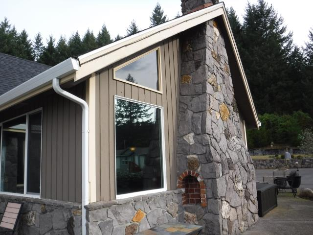 Battle Ground, WA - We did a full home window replacement with 26 units for this beautiful Battle Ground home!