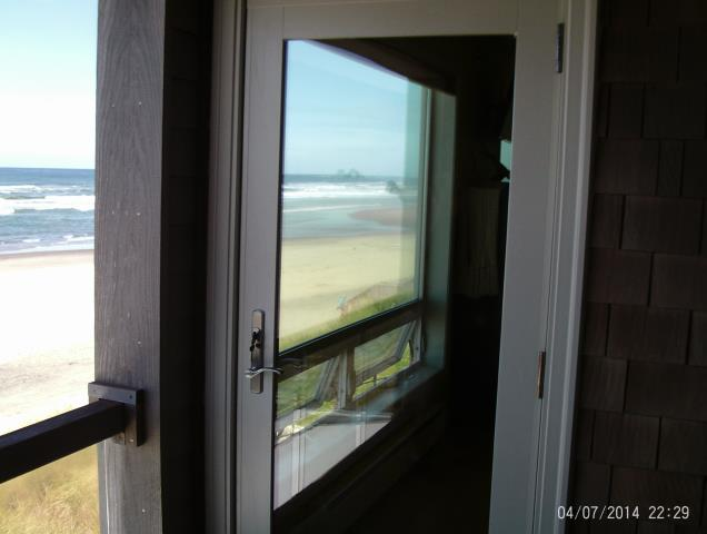 Rockaway Beach, OR - We replaced 2 patio doors and a customized window for this beautiful home!