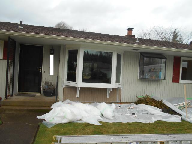 Corvallis, OR - We installed 9 replacement windows for this home!