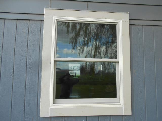 Halsey, OR - We installed 4 replacement windows for this home!