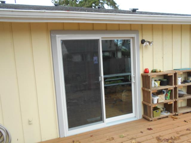 Independence, OR - We installed 4 windows and 1 patio doors for this home!