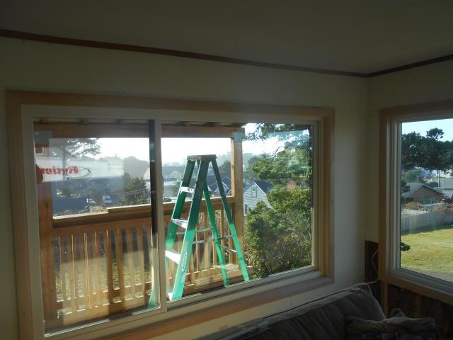 Lincoln City, OR - We installed 13 windows for this lovely home along with a patio door!