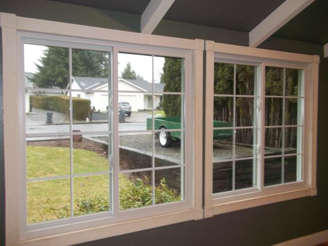 Sublimity, OR - We installed 3 replacement windows for this sweet home!