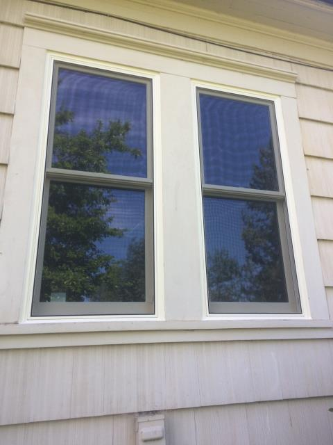 Sublimity, OR - We installed 2 replacement windows for this home!
