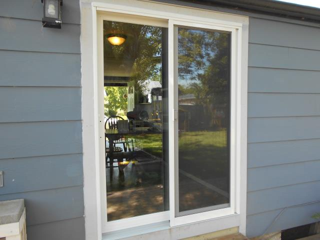 Junction City, OR - We installed 1 patio door for this home!