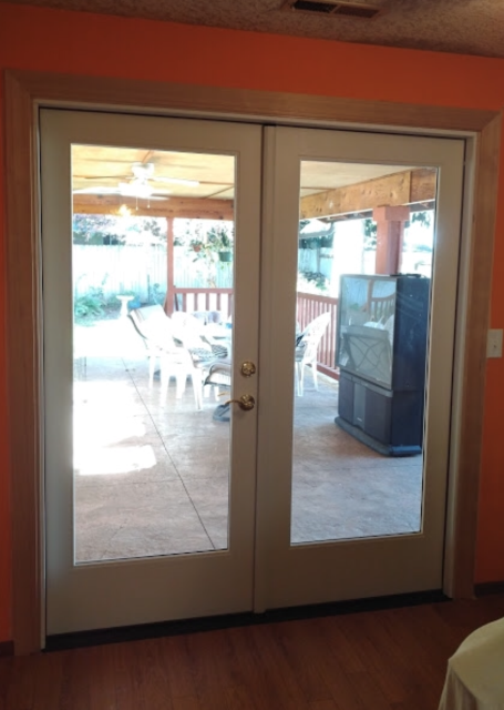 Battle Ground, WA - We installed 1 patio door for this lovely home!