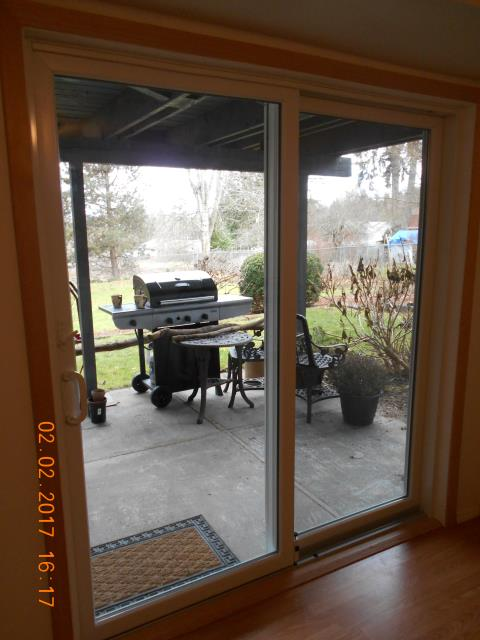 Boring, OR - We installed 1 patio door and 1 window for this great home!