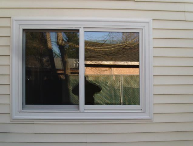 We installed 5 replacement windows for this sweet home!