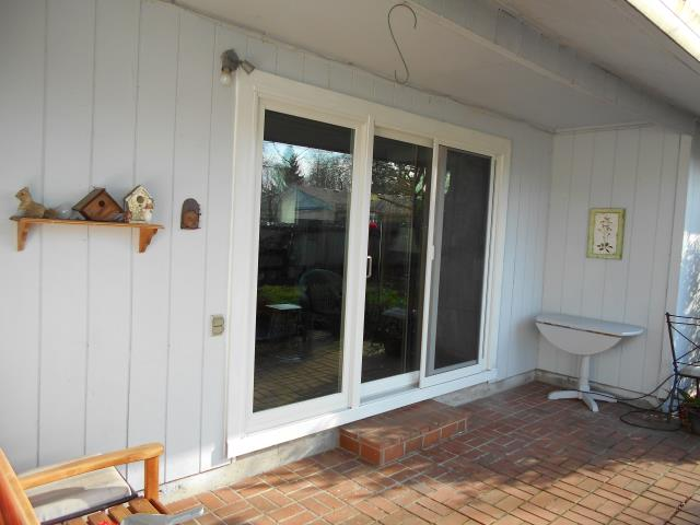 We installed a beautiful new sliding glass door to replace their patio door for this great Albany home!