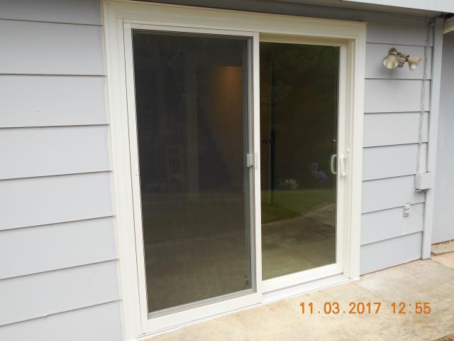 We installed 2 replacement patio doors for this great Hillsboro home!