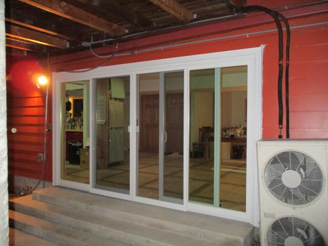 Portland, OR - We installed a gorgeous multi-panel gliding patio door for this beautiful home in Portland!