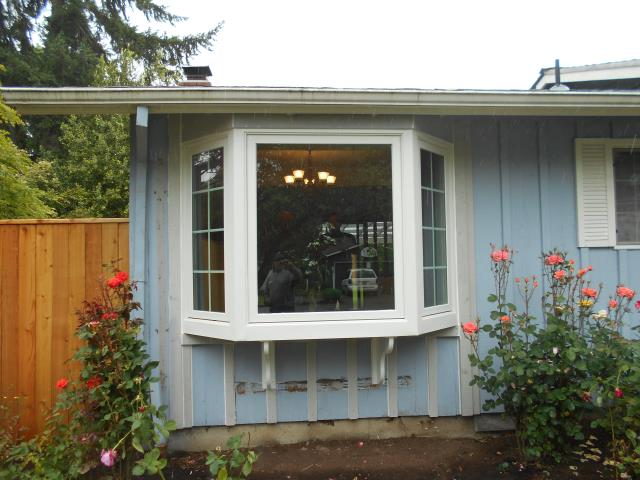 Beaverton, OR - We installed a beautiful new bay window for this home!