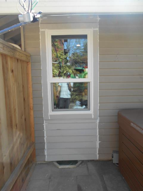 Beaverton, OR - Our install crew replaced a window where a former AC unit was to give these home owners exactly what they wanted! We replaced an addition 3 windows along with this one!