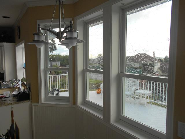 These Renewal by Andersen windows are receiving some nice PNW rain.