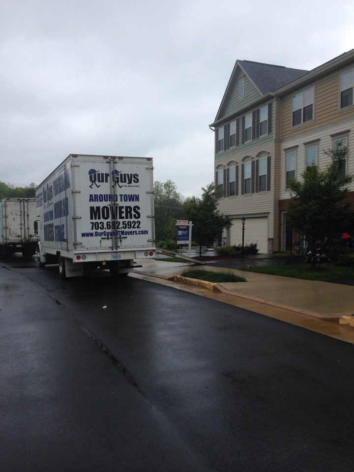 Ashburn, VA - Our Guys is providing a local pack and move in Ashburn, VA.