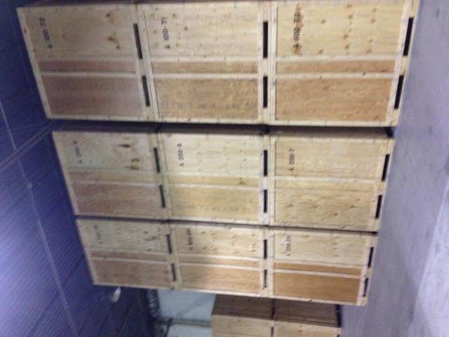 Oakton, VA - Our Guys picking up HHG in our vaults to bring to our storage. WE can store and move your goods.