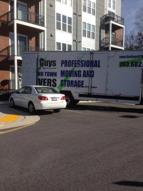 McLean, VA - Our Guys providing a local office move today.