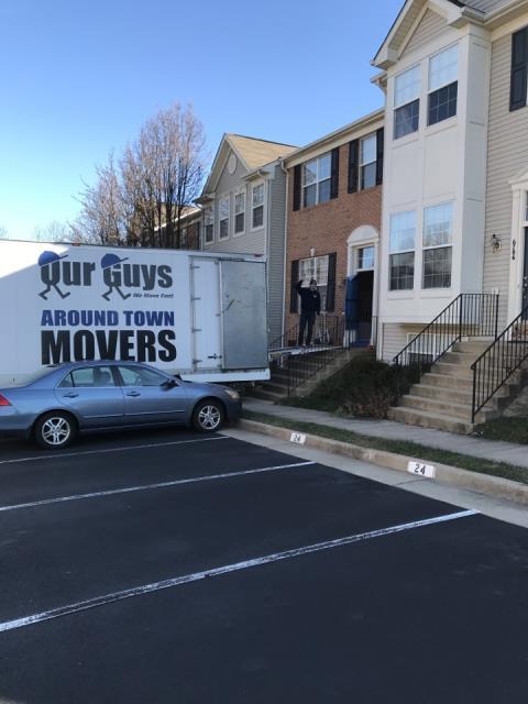 Reston, VA - Local townhouse move