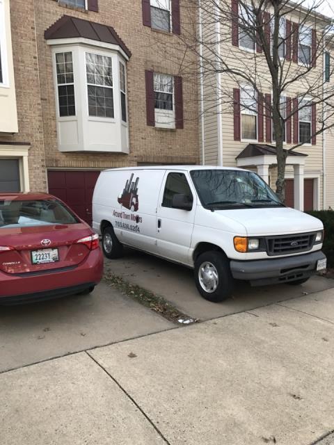 Alexandria, VA - Packing a house prior to a local move.