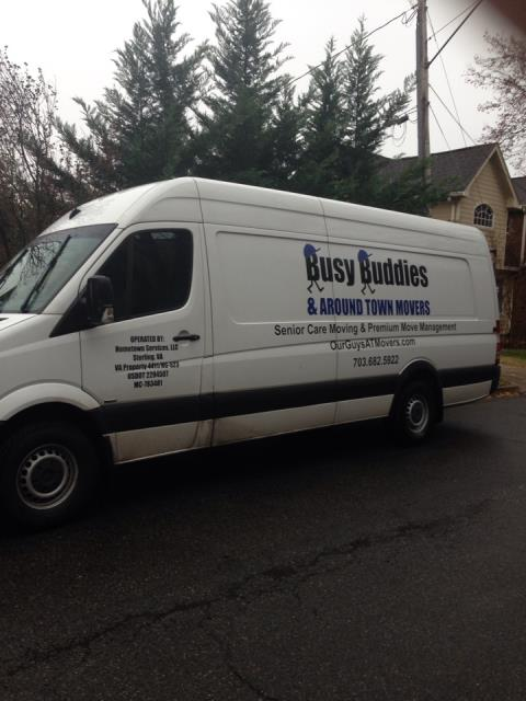 Arlington, VA - Packing a house up prior to a large local move. Our guys packers and movers
