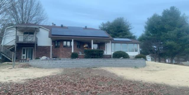 Bethpage, TN - 10 kW solar system install with battery backup!